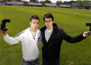 Midfield duo Sergio Marcos and Fer (Marca)