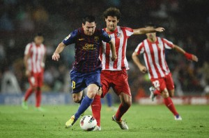Messi hit three past Atlético earlier in the season  (Getty Images Europe)