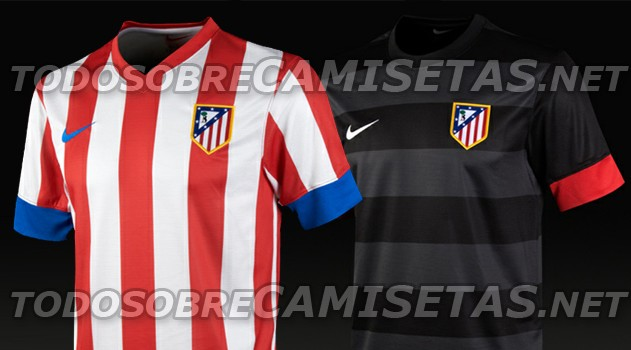 atletico's kits for 2012 13